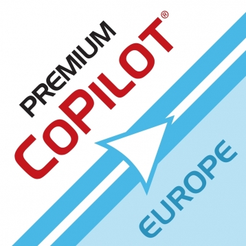 CoPilot Premium Europe Sat Nav - Offline GPS Navigation and Maps