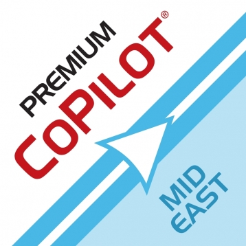 CoPilot Premium Middle East / GCC - Offline GPS Navigation and Maps