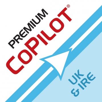 CoPilot Premium UK & Ireland – Full Featured Offline Sat Nav and Maps