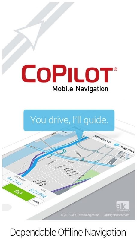 CoPilot Premium USA – Offline GPS Navigation & Maps