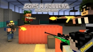 Cops N Robbers (FPS) - Mine Mini Game With Survival Multiplayer