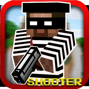 Cops N Robbers (original) Multiplayer - with Minecraft skin exporter (PC Edition)