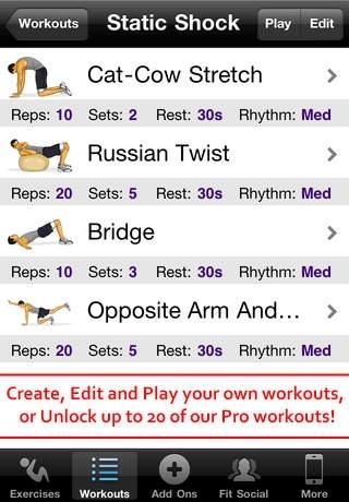 Core Workouts Free