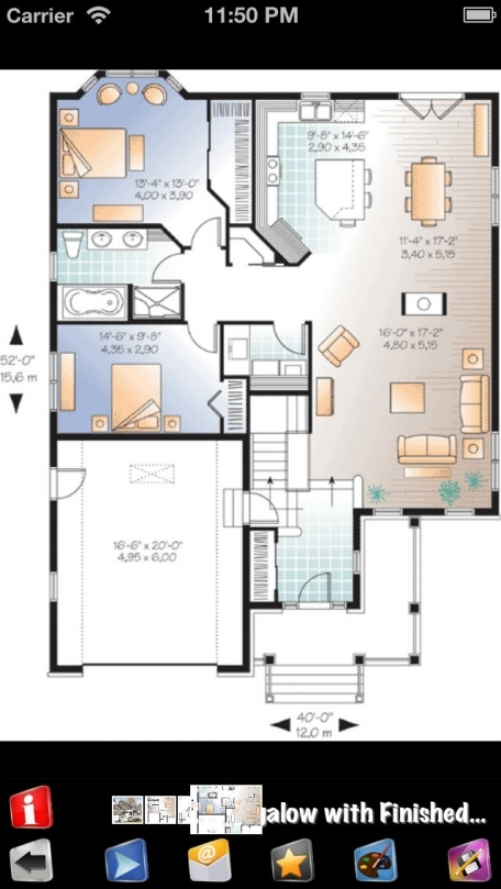 Cottage Style Family House Plans Entertainment App