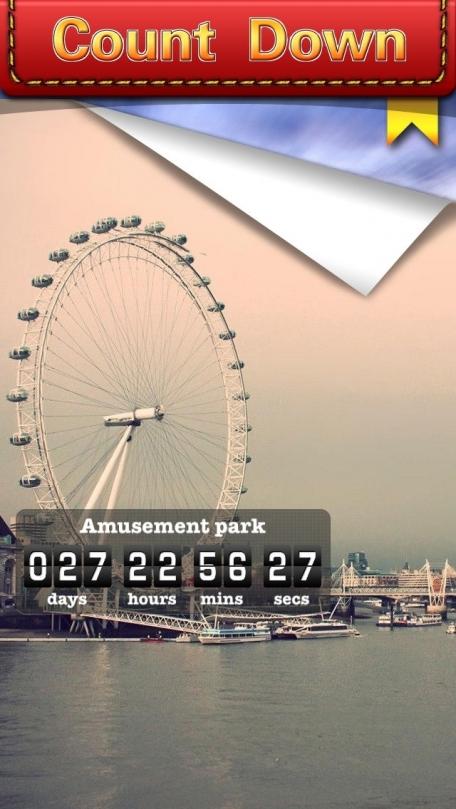 Count Down App (Big Day Event Reminder & Digital Clock Timer Counter)