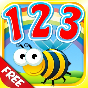 Count-A-Licious Free: Learn Number Writing with Tracing Games & Counting Songs for Toddlers