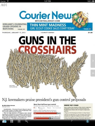 Courier News Print Edition