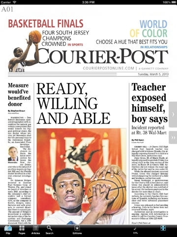 Courier-Post Print Edition