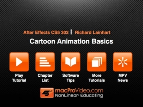 Course For After Effects Cartoon Animation