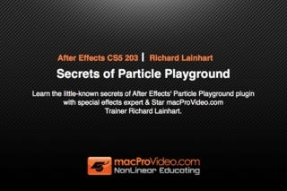 Course For After Effects Secrets of Particle Playground