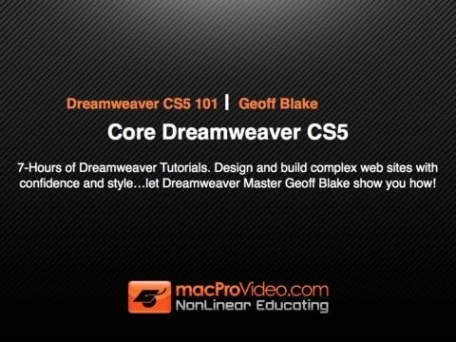 Course For Dreamweaver 101