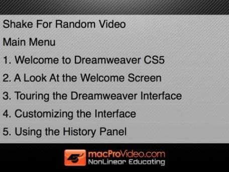 Course For Dreamweaver 101