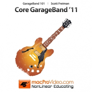 Course For Garageband \'11 101 - Core Garageband \'11