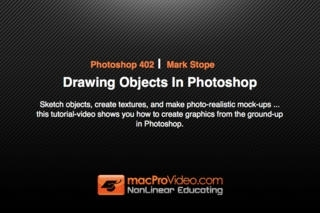 Course For Photoshop CS5 Drawing Objects
