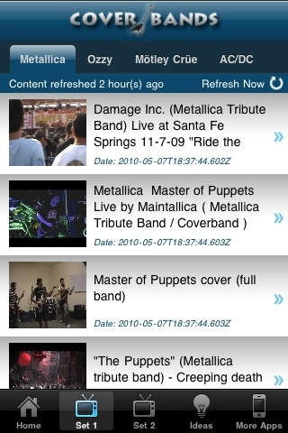 Cover Bands: Heavy Metal & Rock Music Videos
