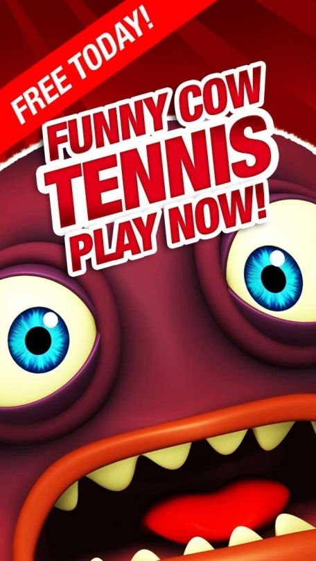 Cow Tennis Game