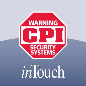 cpi security intouch system remote control of your home and rh apptism com ADT Security Systems CPI Security Thank You Note
