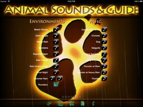 100+ Animal Sounds & Guide Catalog