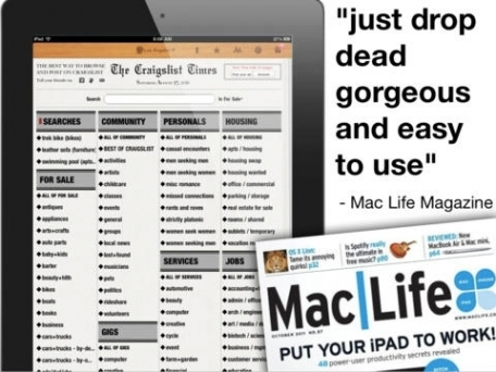 Craig's Times - Craigslist Personals, Cars, Furniture + Other Classifieds
