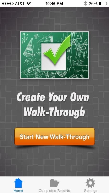 Create Your Own Walk-Through