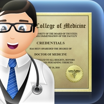 Credentials Medical Organizer of Professional Documents