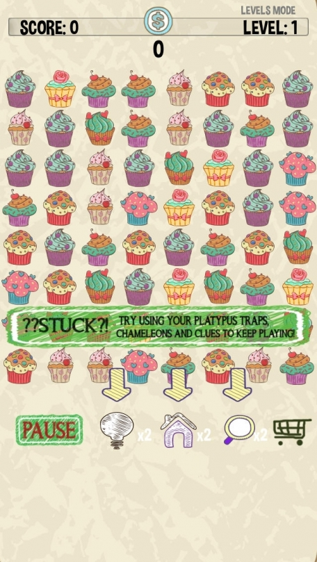 Cupcaker - Match Three Cupcakes - FREE Tap Puzzle Fun