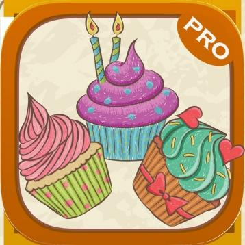Cupcaker - Match Three Cupcakes - PRO Tap Puzzle Fun