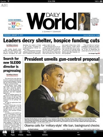 Daily World Print Edition