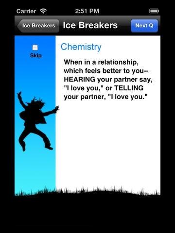 Dating Ice Breakers