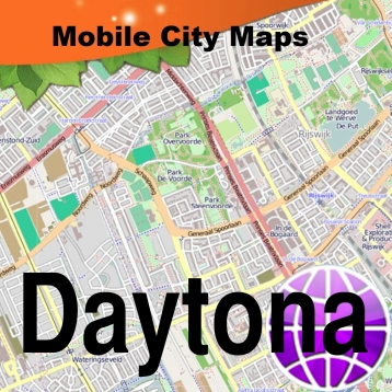 Daytona Beach Street Map