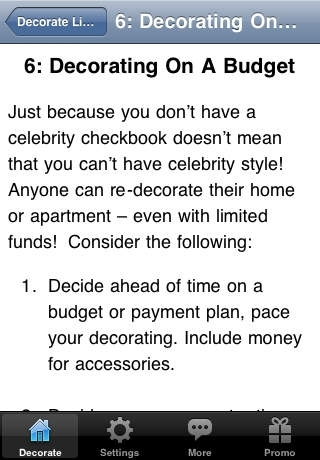 Decorate Like a Celebrity with Less Money