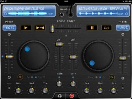 deej - DJ turntable. Mix, record & share to become the real deejay. Loop & effects edition