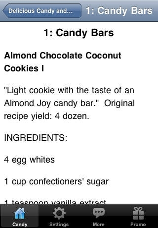 Delicious Candy and Chocolate Recipes