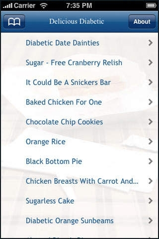 Delicious Diabetic Recipes.