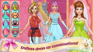Design It! Princess Fashion Makeover - Make Up, Dress Up, Tailor and Outfit Maker