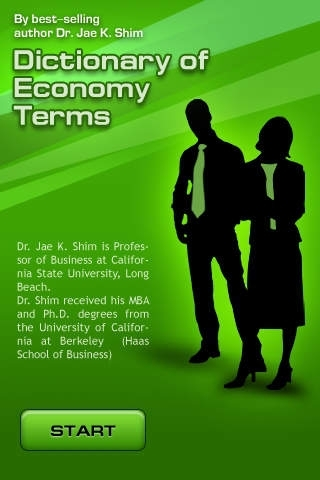 Dictionary of Economy Terms - All definitions for production, distribution & consumption