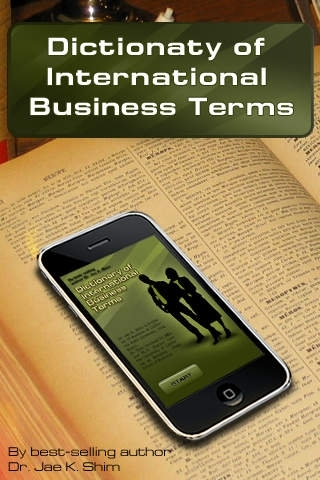Dictionary of International Bussiness Terms & definitions for learning MBA and other business & finance areas