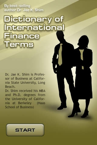 Dictionary of International Finance Terms  - All definitions for learning monetary relations