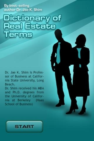 Dictionary of Real Estate Terms - All definitions for realty and immovable property