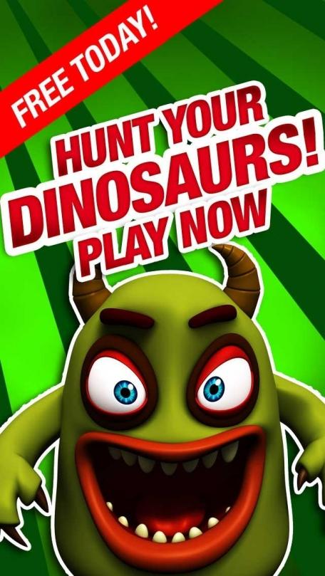Dinosaur Shotgun Hunter Free