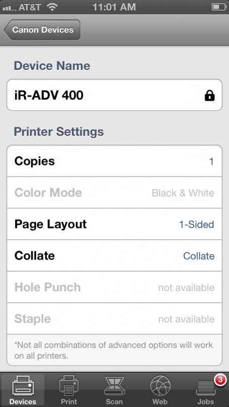Direct Print and Scan for Mobile