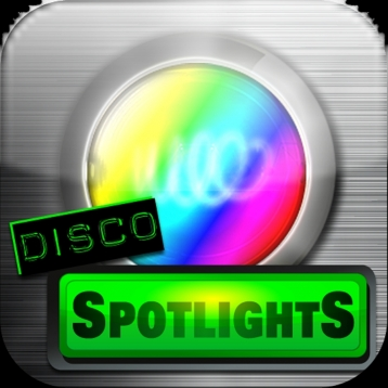 Disco Spotlights with Flash light and Ambient Light