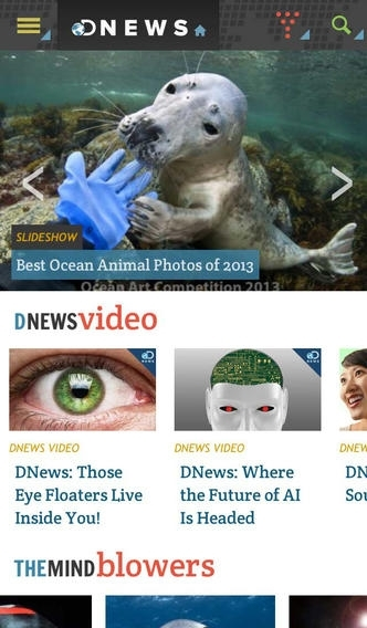 Discovery News for iPhone