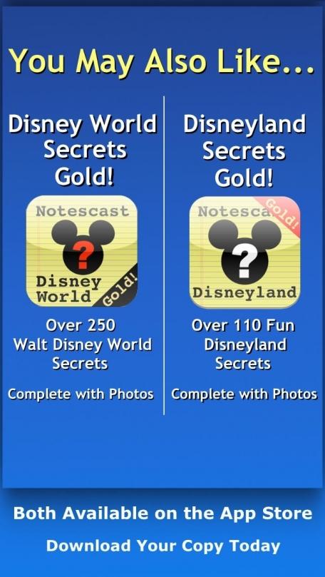 Disney World Hidden Mickeys