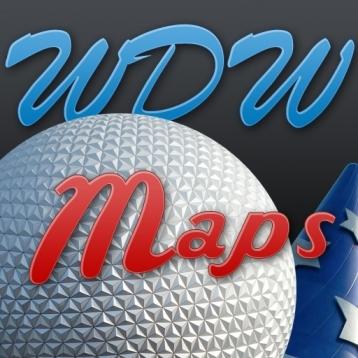 Disney World Maps