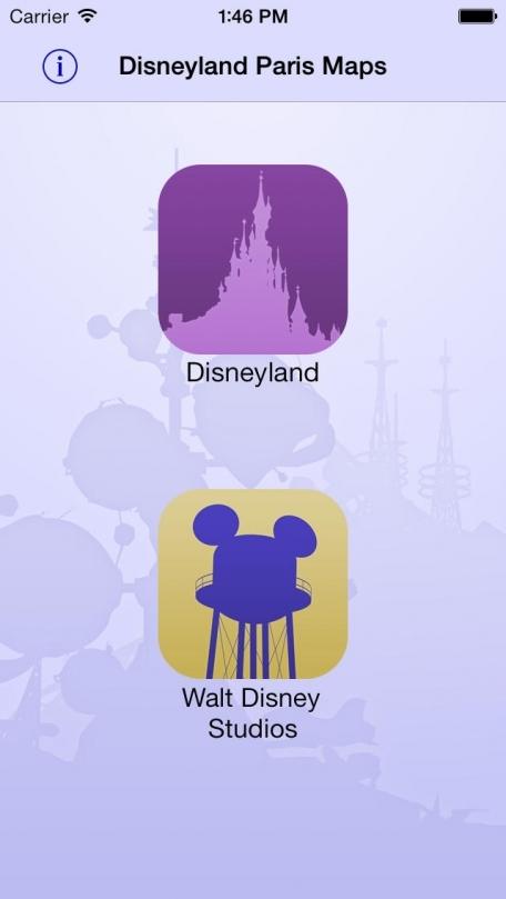 Disneyland Paris Maps