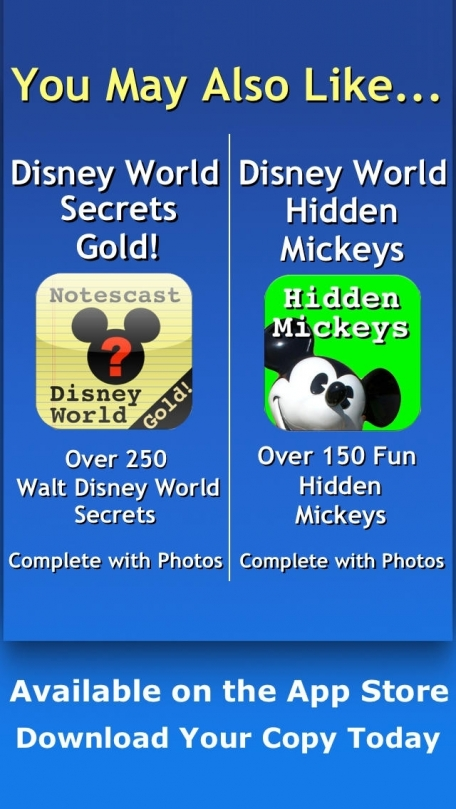 Disneyland Secrets Gold! Notescast