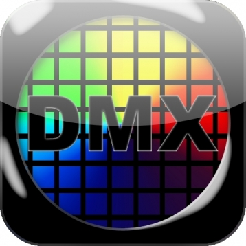 DMXmotion stand-wireless DMX fixtures and moving head contol by Acceleration Sensor