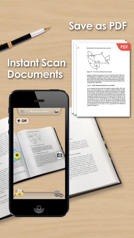 Doc Scan Pro - Scanner to Scan PDF, Print, Fax, Email, and Upload to Cloud Storages