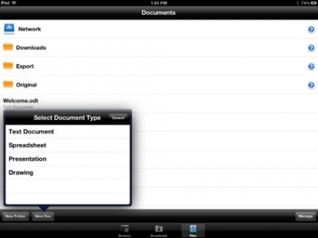 Documents Unlimited Free for iPad - Editor for Microsoft Office Word Document